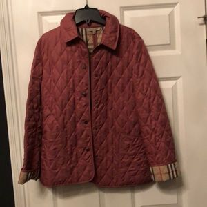 Pink Burberry jacket. In great condition